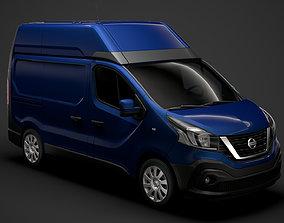 3D model Nissan NV300 Van L1H2 2020