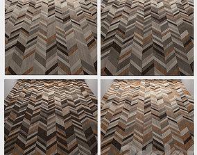 3D wood floor 4 types