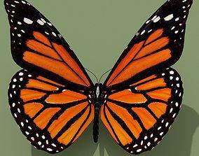 3D Monarch Butterfly