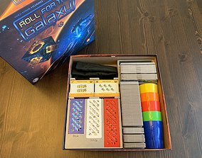 3D print model Roll for the Galaxy Board Game Organizer 2