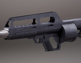 3D asset Pancor Jackhammer Rigged PBR