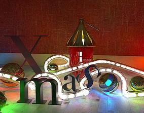 Xmas decorations 3D model