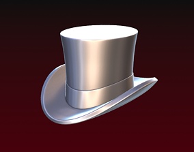 Top hat 3D printable model