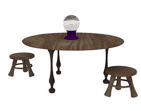 Fortune Teller Table 3D