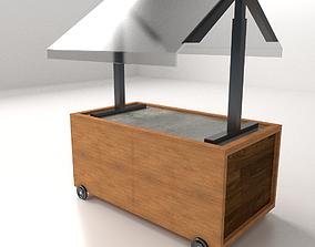 3D model Food Cart 2