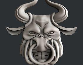 3d STL models for CNC bull minotaur