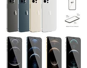 Apple Iphone 12 Pro smartphone 3D