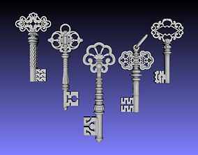 3D printable model Key wall decor