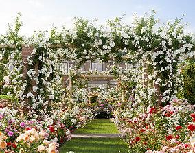 3D Rose garden-Bundle 08