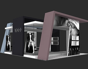 Exhibition Stand - ST0016 3D