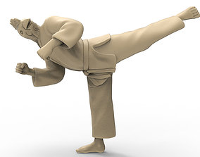 Chicken back kick 3D print model