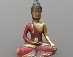 Buddha 3D model game-ready PBR