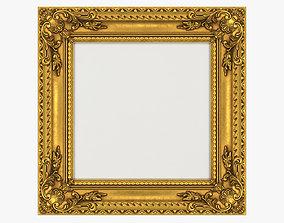 Frame picture gold v5 3D model