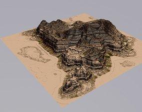 3D model Terrain 09 rock