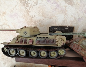 Tanks T34-76 3D print model
