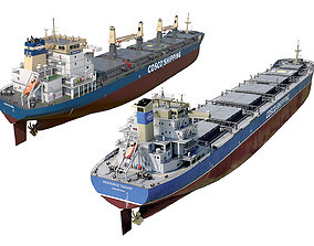 3D Pack Bulk carrier ships COSCO