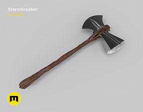 Stormbreaker Thor Axe 3D printable model