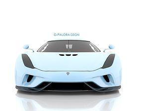 3D model 2016 Koenigsegg Regera