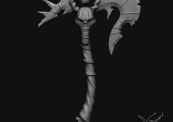 Axe weapon