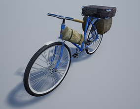 3D asset realtime Old Bicycle