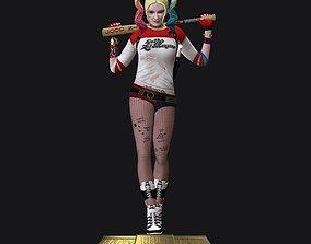 Harley Quinn Suicide Squad File Stl for 3d