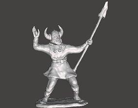 3D model viking character
