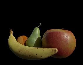 Fruit lowpoly VR 3D model