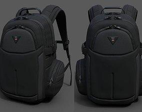 3D model Backpack Camping Generic military human bag 1