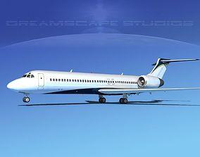 Boeing 717-200 Corporate 4 3D model