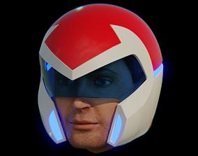 Voltron Pilot Helmet 3D print model