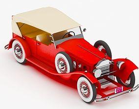 Car antique 3D