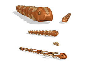 3D printable model Caterpillar