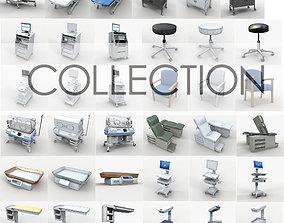3D model Collection Medical 44 unit