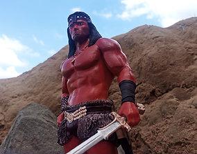 Conan the destroyer 3D printable
