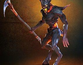 3D model Demon Black