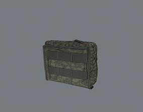 Utility pouch 3D asset