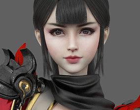 3D model Military Princess