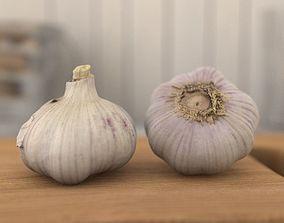 garlic Alho - Garlic - Scan 20k 3D