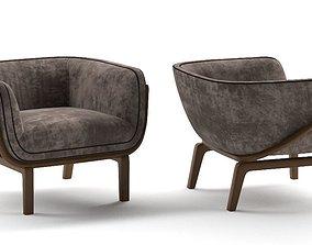 3D loungechair Lounge chair