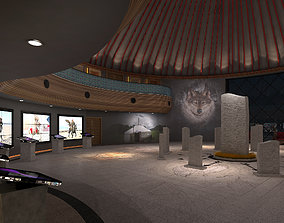 MUSEUM 3D model monument