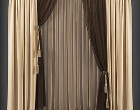 realtime Curtain 3D model 139