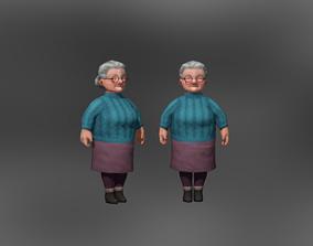 3D model Old Lady