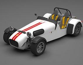 3D Caterham car