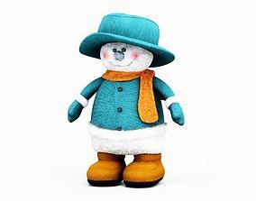 Christmas Toy Snowman 3D