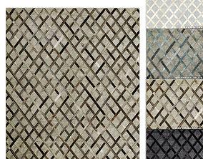 3D Cuero Hide Rug RH carpet