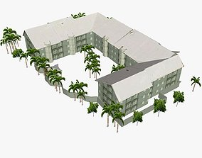 Aloha Lane Apartments Main Beach 3D asset