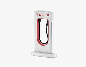 Tesla Charging Station Module 3D model