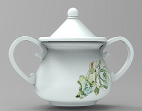 Miniature mug set 3D print model