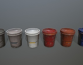 Bucket old 3D asset game-ready
