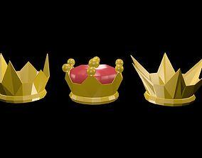 3D asset Crowns 1